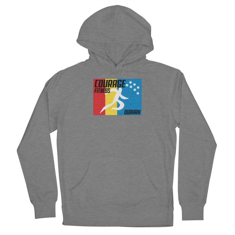Durham Flag Women's Pullover Hoody by Courage Fitness Durham