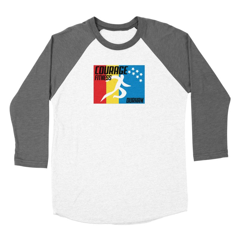 Durham Flag Women's Longsleeve T-Shirt by Courage Fitness Durham