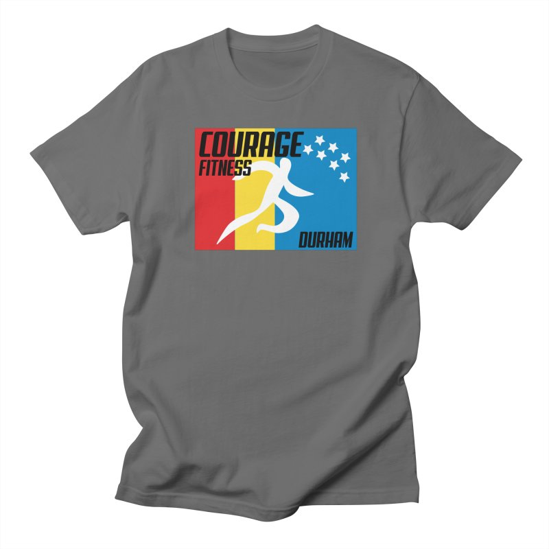 Durham Flag Men's T-Shirt by Courage Fitness Durham
