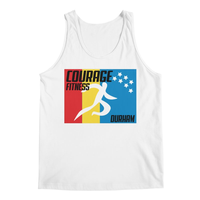 Durham Flag Men's Tank by Courage Fitness Durham