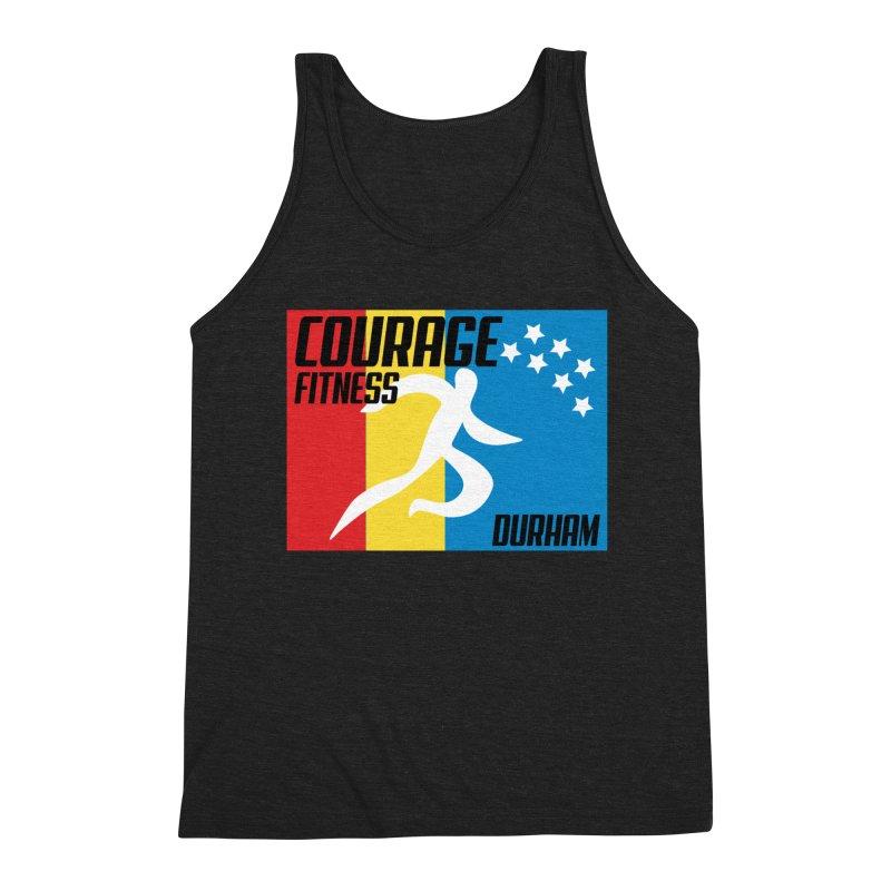 Durham Flag Men's Tank by Courage Fitness Durham
