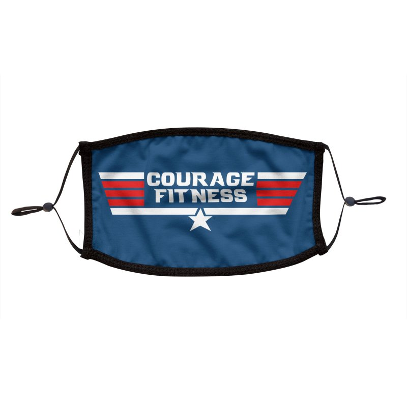 Top Gun Accessories Face Mask by Courage Fitness Durham