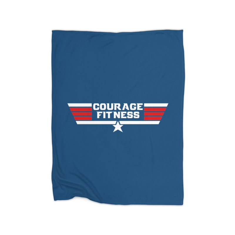 Top Gun Home Blanket by Courage Fitness Durham