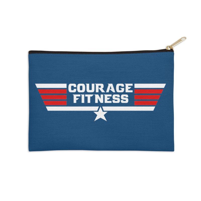 Top Gun Accessories Zip Pouch by Courage Fitness Durham