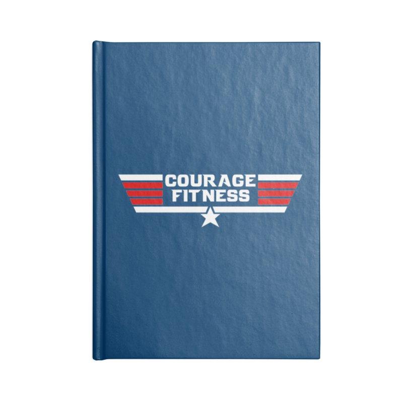 Top Gun Accessories Notebook by Courage Fitness Durham