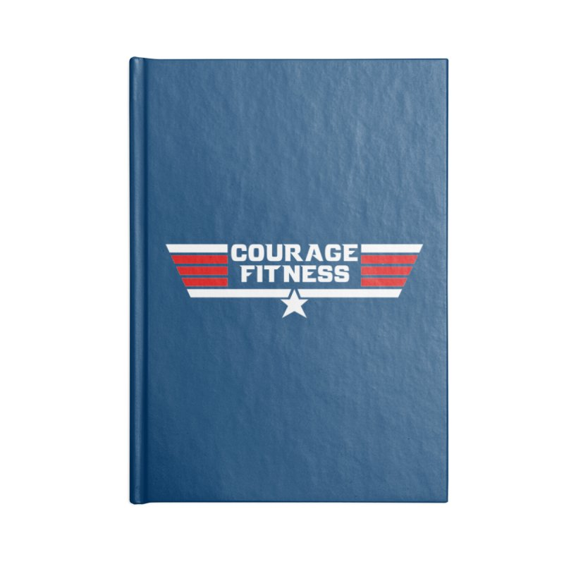 Top Gun Accessories Notebook by Courage Fitness Durham