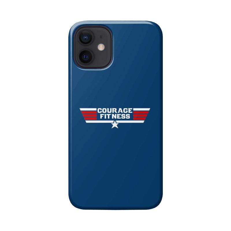 Top Gun Accessories Phone Case by Courage Fitness Durham