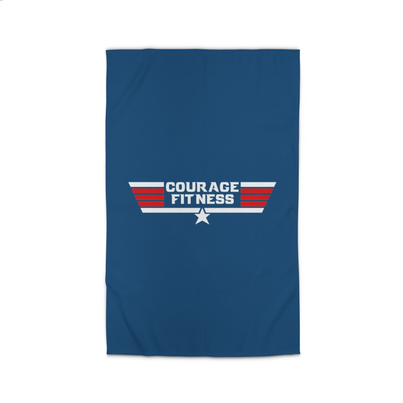 Top Gun Home Rug by Courage Fitness Durham