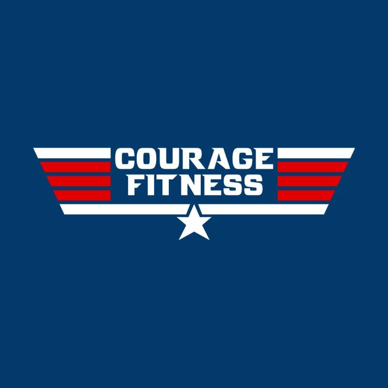 Top Gun Women's Zip-Up Hoody by Courage Fitness Durham