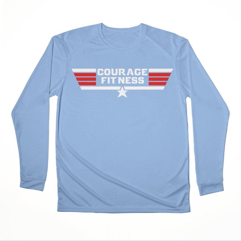 Top Gun Men's Longsleeve T-Shirt by Courage Fitness Durham