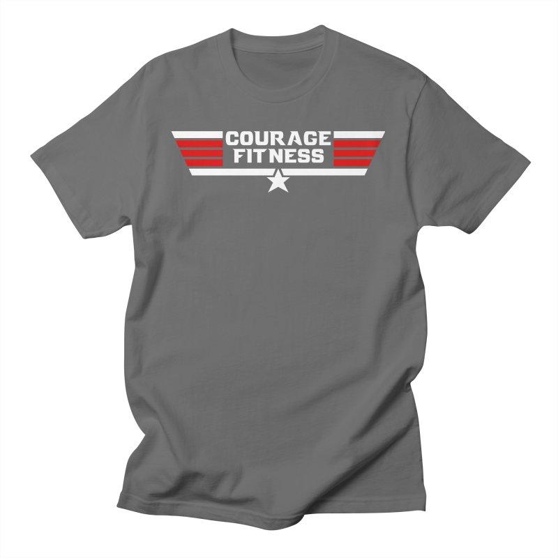 Top Gun Men's T-Shirt by Courage Fitness Durham