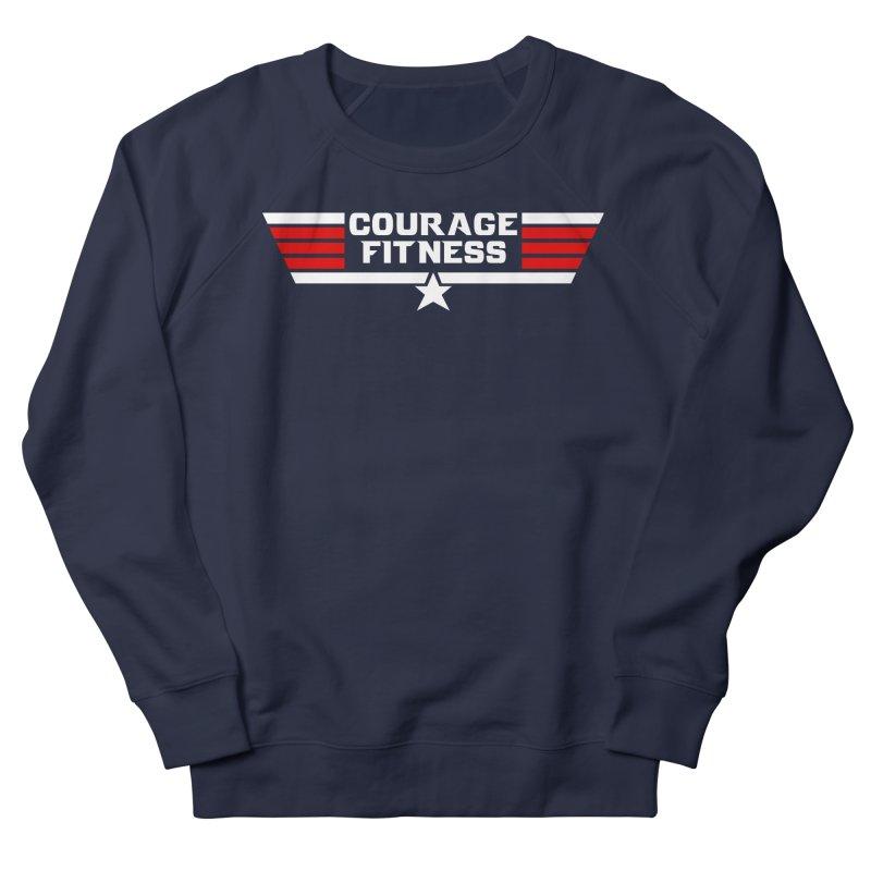 Top Gun Women's Sweatshirt by Courage Fitness Durham