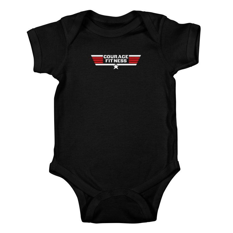 Top Gun Kids Baby Bodysuit by Courage Fitness Durham