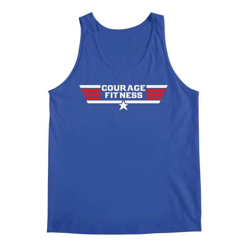 Top Gun Men's Tank by Courage Fitness Durham