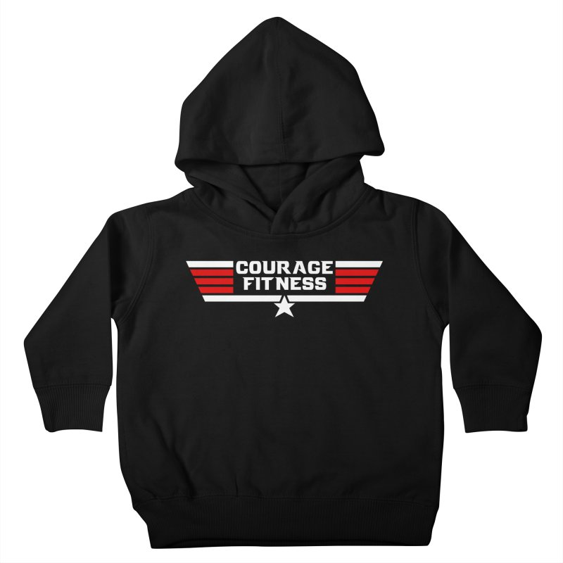 Top Gun Kids Toddler Pullover Hoody by Courage Fitness Durham