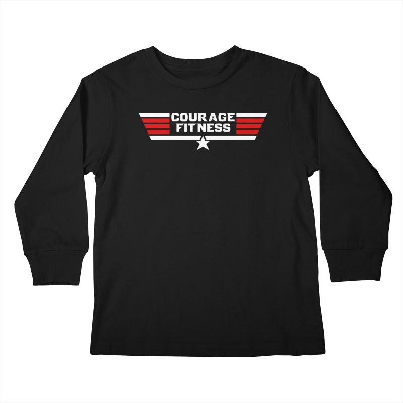 Top Gun Kids Longsleeve T-Shirt by Courage Fitness Durham