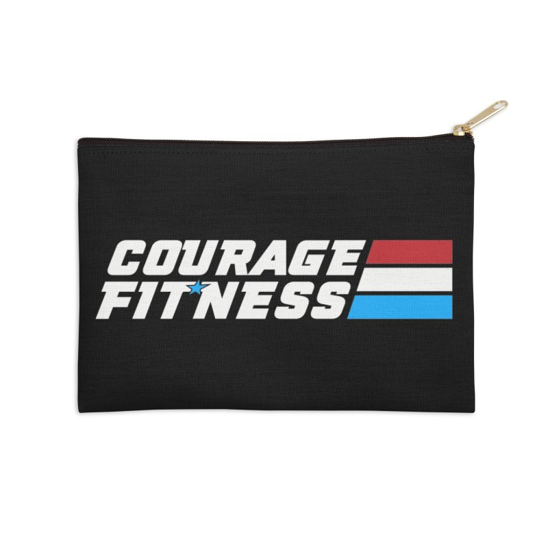 GI Joe 1 Accessories Zip Pouch by Courage Fitness Durham