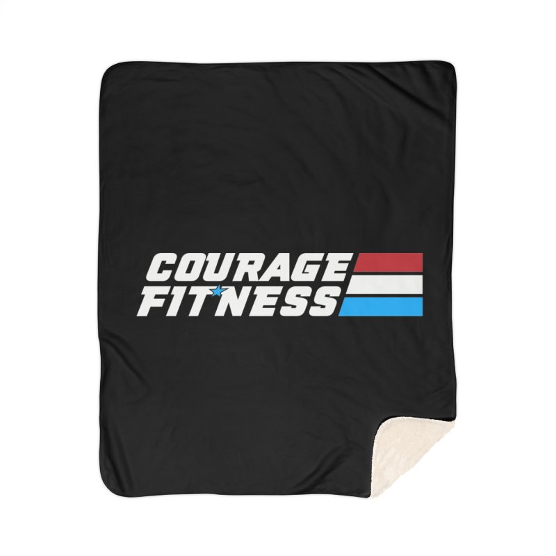GI Joe 1 Home Blanket by Courage Fitness Durham