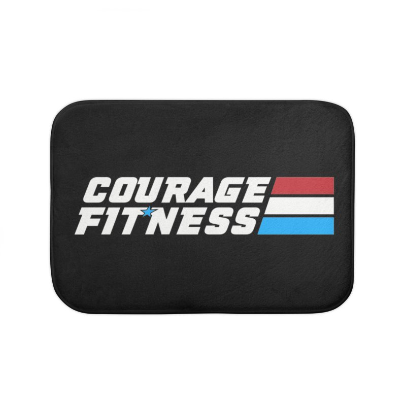 GI Joe 1 Home Bath Mat by Courage Fitness Durham