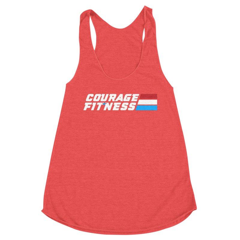 GI Joe 1 Women's Tank by Courage Fitness Durham