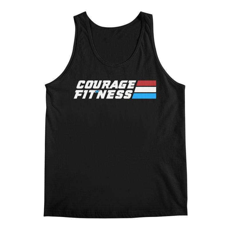 GI Joe 1 Men's Tank by Courage Fitness Durham