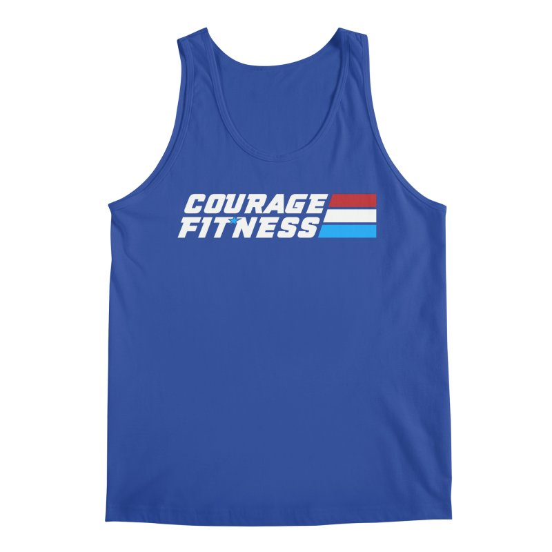 GI Joe 1 Men's Tank by Courage Fitness Durham