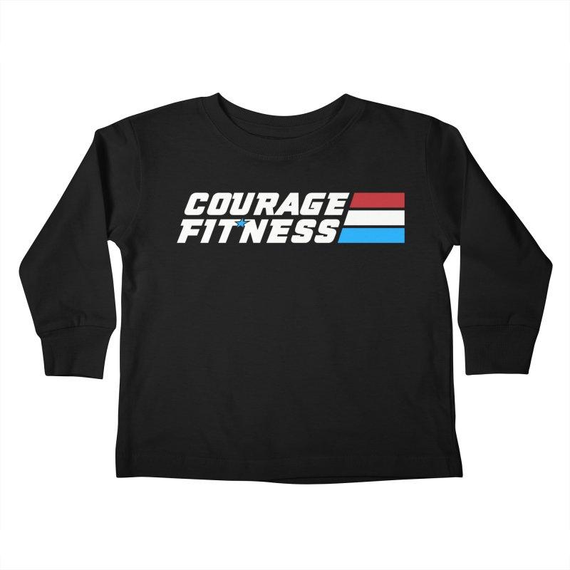 GI Joe 1 Kids Toddler Longsleeve T-Shirt by Courage Fitness Durham