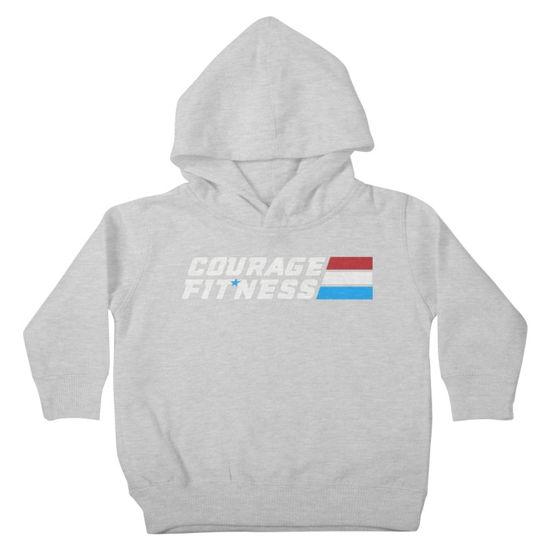 GI Joe 1 Kids Toddler Pullover Hoody by Courage Fitness Durham