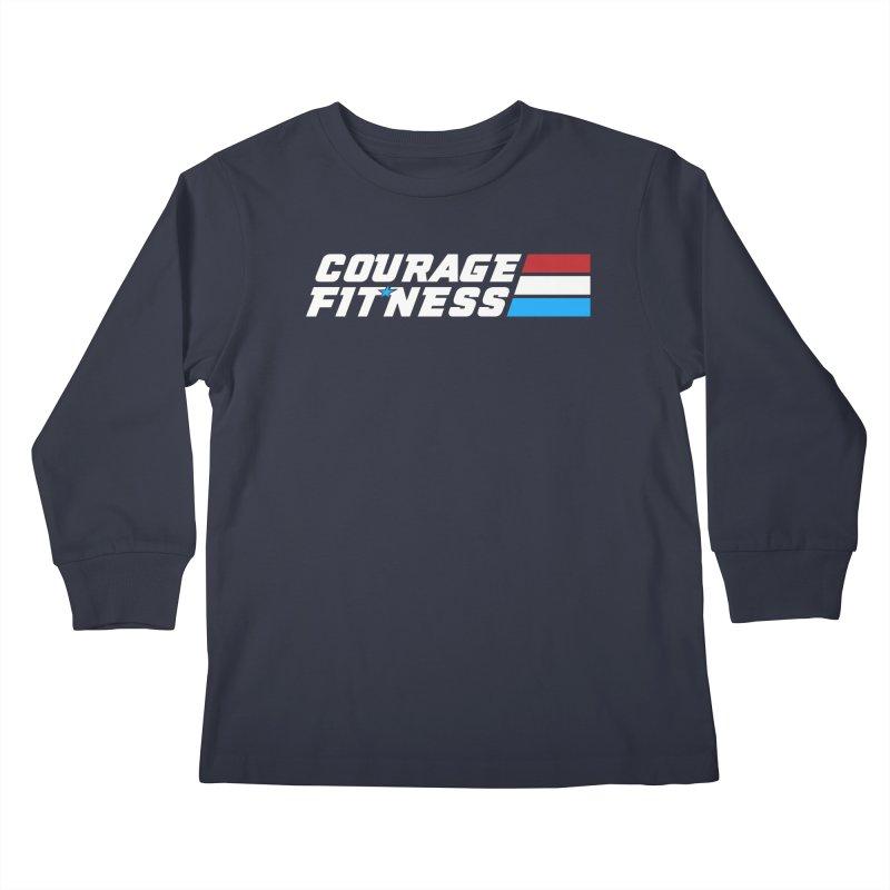 GI Joe 1 Kids Longsleeve T-Shirt by Courage Fitness Durham