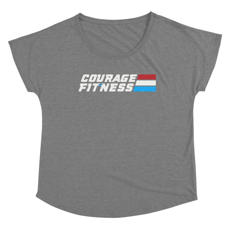 GI Joe 1 Women's Scoop Neck by Courage Fitness Durham