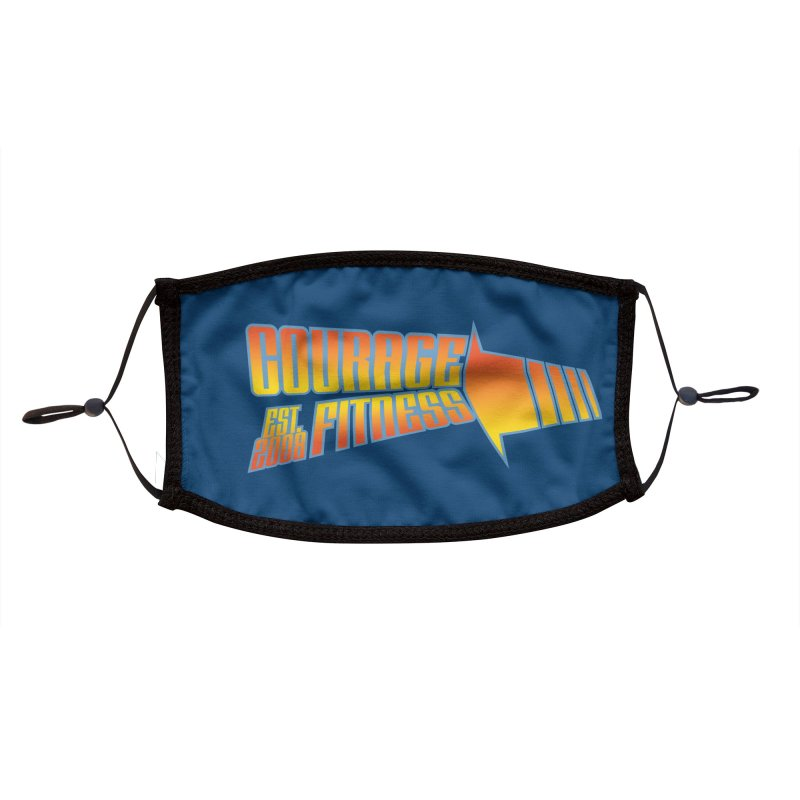 Back To The Future Accessories Face Mask by Courage Fitness Durham