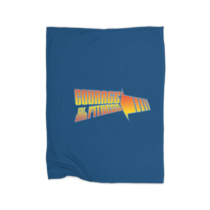 Back To The Future Home Blanket by Courage Fitness Durham