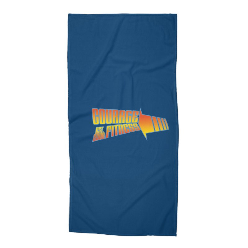 Back To The Future Accessories Beach Towel by Courage Fitness Durham