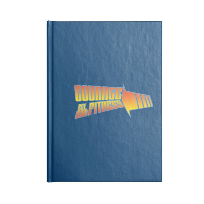 Back To The Future Accessories Notebook by Courage Fitness Durham