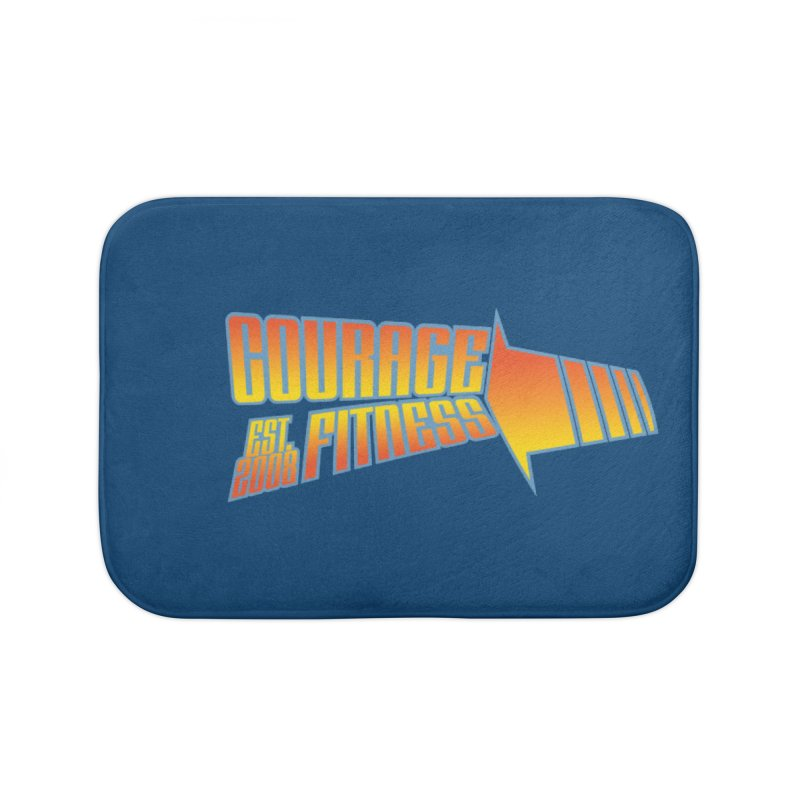 Back To The Future Home Bath Mat by Courage Fitness Durham