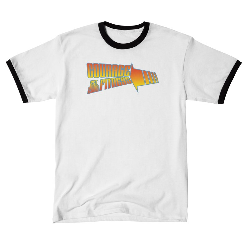 Back To The Future Men's T-Shirt by Courage Fitness Durham