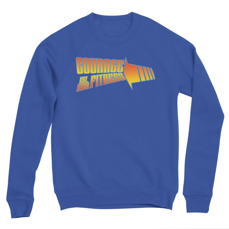 Back To The Future Women's Sweatshirt by Courage Fitness Durham