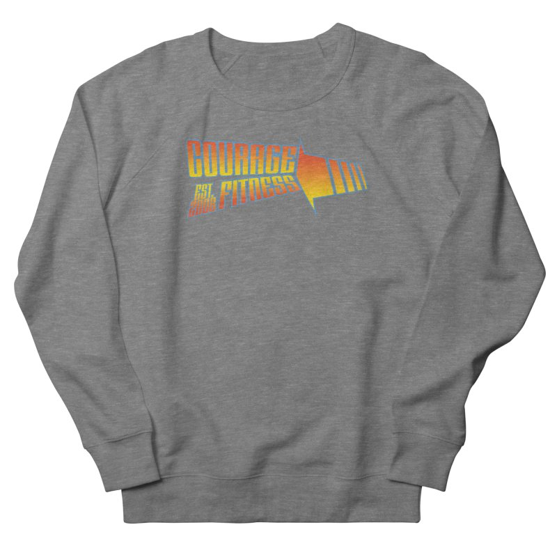 Back To The Future Men's Sweatshirt by Courage Fitness Durham