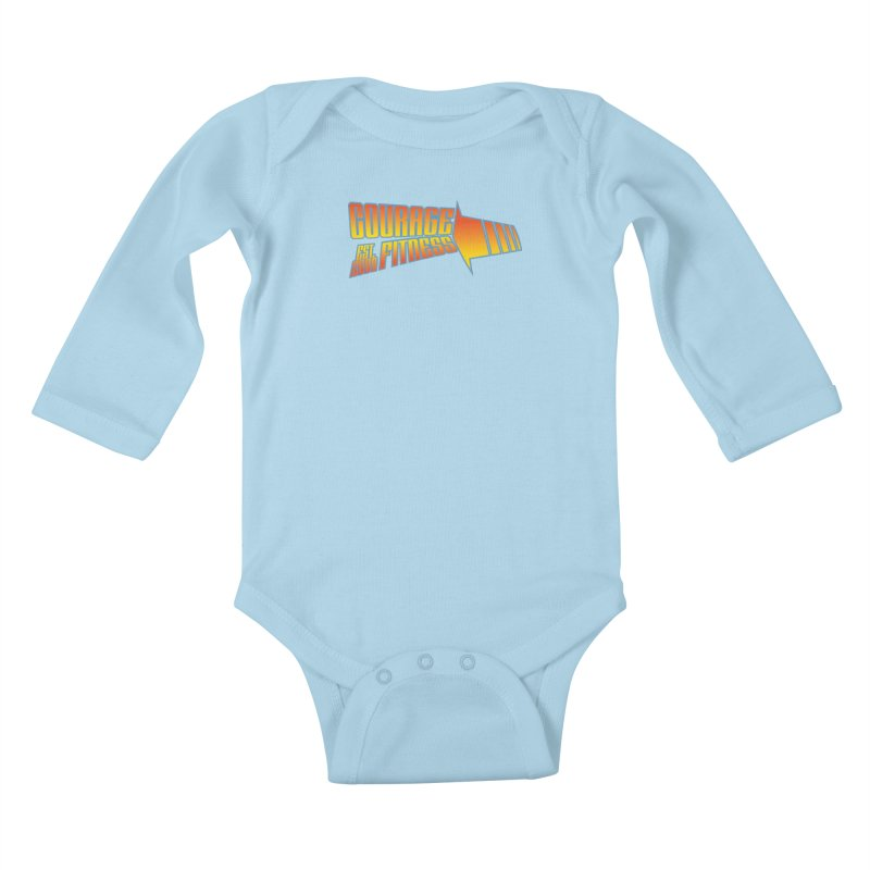 Back To The Future Kids Baby Longsleeve Bodysuit by Courage Fitness Durham
