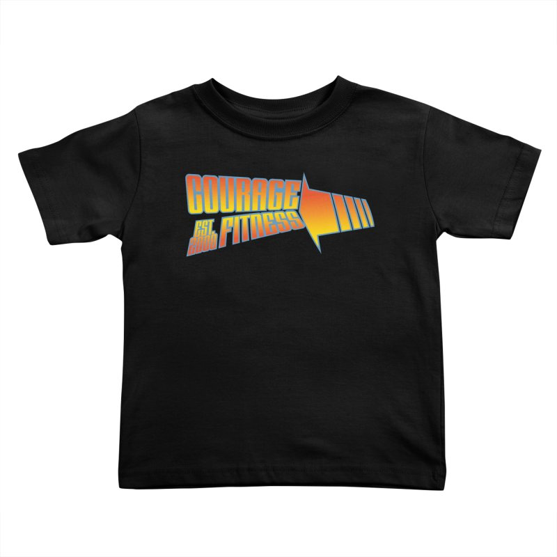 Back To The Future Kids Toddler T-Shirt by Courage Fitness Durham