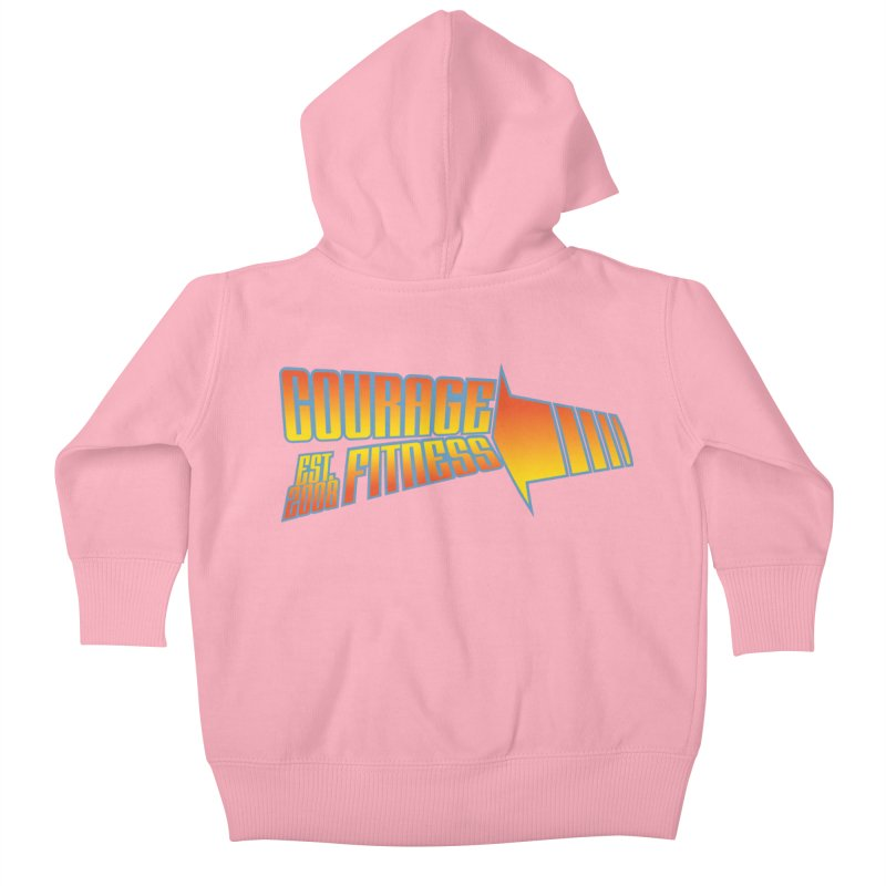 Back To The Future Kids Baby Zip-Up Hoody by Courage Fitness Durham