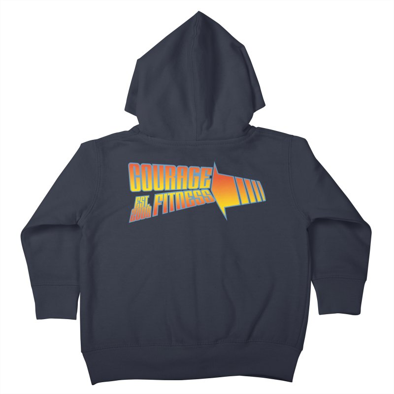 Back To The Future Kids Toddler Zip-Up Hoody by Courage Fitness Durham