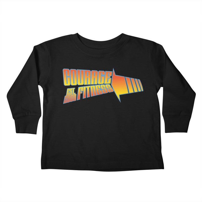 Back To The Future Kids Toddler Longsleeve T-Shirt by Courage Fitness Durham
