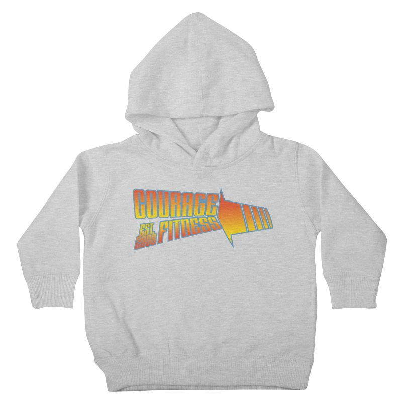 Back To The Future Kids Toddler Pullover Hoody by Courage Fitness Durham