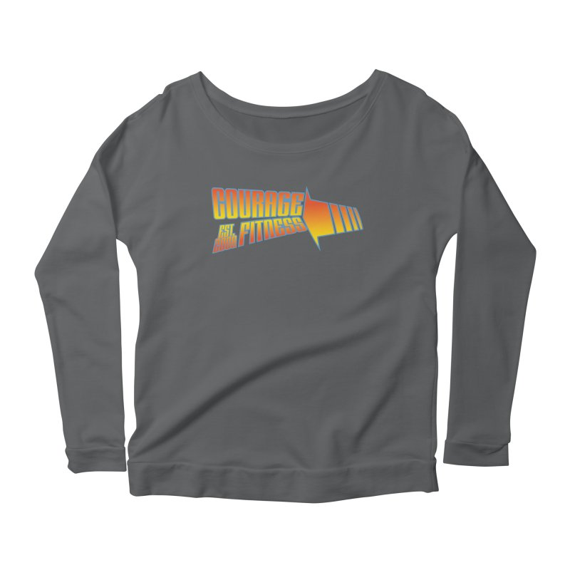 Back To The Future Women's Longsleeve T-Shirt by Courage Fitness Durham