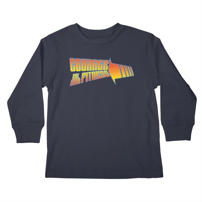 Back To The Future Kids Longsleeve T-Shirt by Courage Fitness Durham