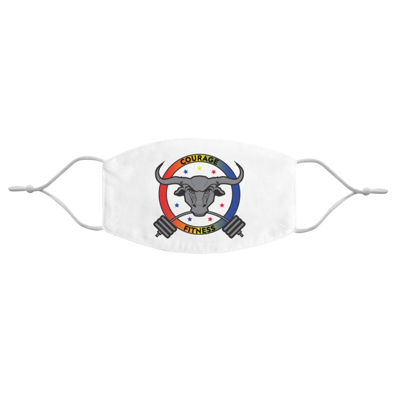 Courage Fitness Color Accessories Face Mask by Courage Fitness Durham