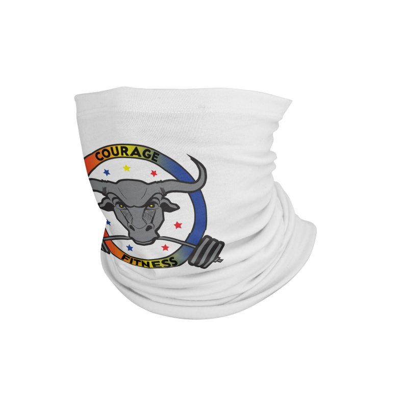 Courage Fitness Color Accessories Neck Gaiter by Courage Fitness Durham
