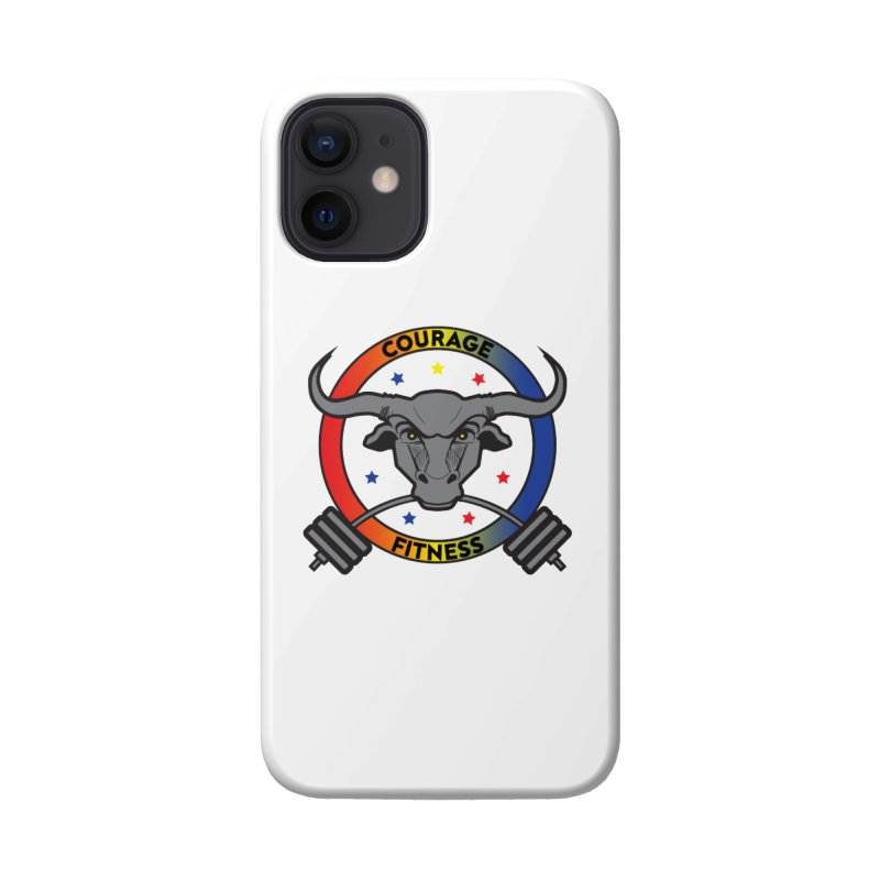 Courage Fitness Color Accessories Phone Case by Courage Fitness Durham