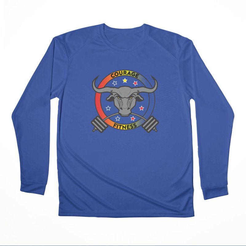 Courage Fitness Color Women's Longsleeve T-Shirt by Courage Fitness Durham